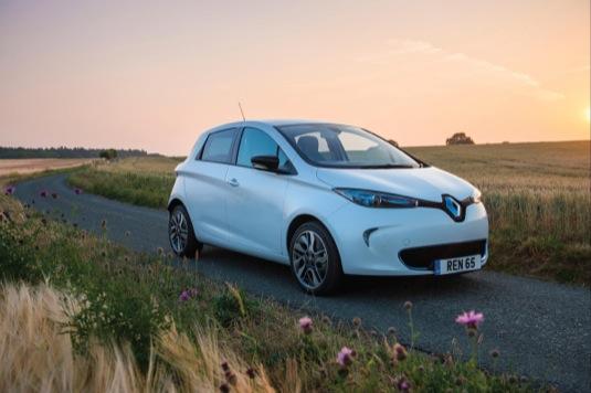 auto elektromobily Renault Zoe