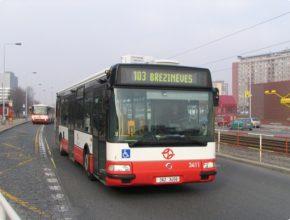 auto autobus Praha pražský dopravní podnik