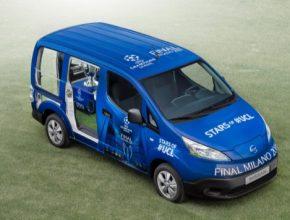 auto elektromobil Nissan e-NV200 elektroauto dodávka