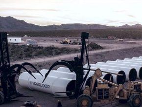 auto Hyperloop One nevada las vegas test