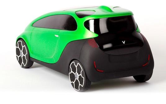 auto elektromobil Orca Jan Vítek design průmyslový