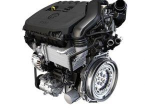 Jedním z mnoha výjimečných prvků nového agregátu je poprvé u velkosériově vyráběného zážehového motoru použité výfukové turbodmychadlo s proměnnou geometrií rozváděcích lopatek (VTG).