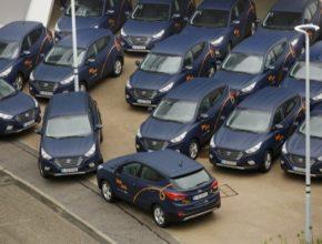 auto Hyundai ix35 Tucson Fuel Cell Mnichov BeeZero carsharing