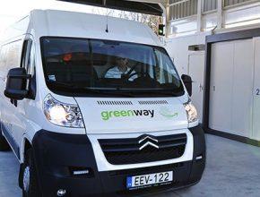 auto GreenWay elektrická dodávka