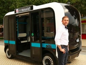 auto Olli IBM Watson Local Motors umělá inteligence robotický elektromobil