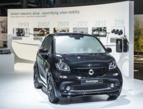 auto elektromobil Smart ED 4. generace Daimler
