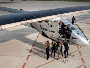 auto solární letadlo Solar Impulse 2 přelet Atlantiku