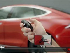 auto elektromobily Tesla Model S a Tesla Model X instruktážní video