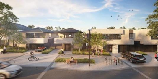 auto Tesla městečko Yarrabend-Melbourne-Australie-development-nove-bydleni-domy