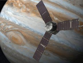 auto Juno vesmírná sonda Jupiter NASA JPL