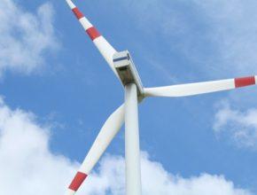 auto obnovitelné zdroje větrná elektrárna turbína vrtule
