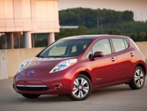 auto elektromobil Nissan Leaf