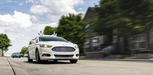 auto Ford Fusion autonomní vůz robotické auto