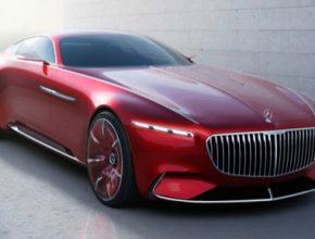 auto Vision Mercedes-Maybach 6: studie extravagantního kupé luxusní třídy