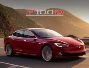 auto elektromobil Tesla Model S P100D 100kWh baterie