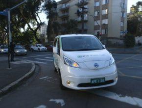 auto Nissan e-NV200 elektromobil dodávka