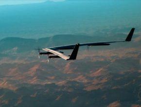 auto solární letadlo dron Aquila Facebook