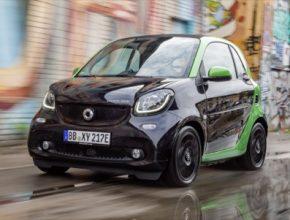 auto elektromobil Smart ForTwo ED autosalon Paříž