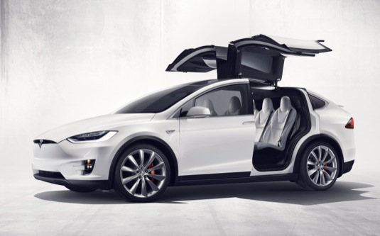 elektromobil Tesla Model X