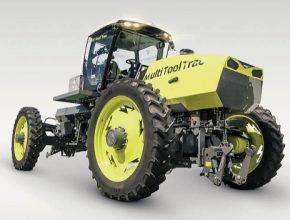 auto hybridní traktor Multi Tool Trac