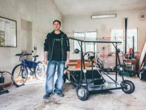 auto Kutil Jaromír März elektromobil