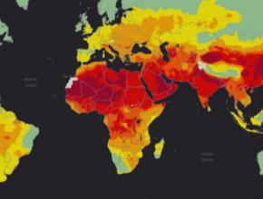 auto mapa znečištění ovzduší interaktivní