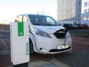 auto nabíjecí stanice pro elektromobily Písek Czech Smart City Cluster