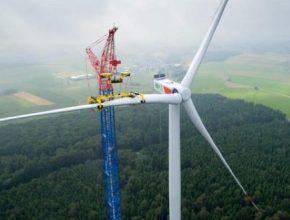 větrná turbína Nordex N131/3300