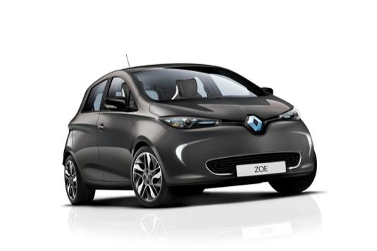 auto elektromobil Renault Zoe ZE 40 41kWh baterie autosalon Paříž 2é16
