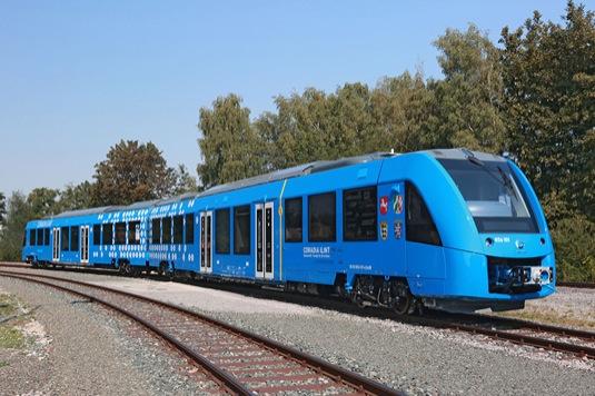 auto vodíkový vlak Alstom Coradia iLint