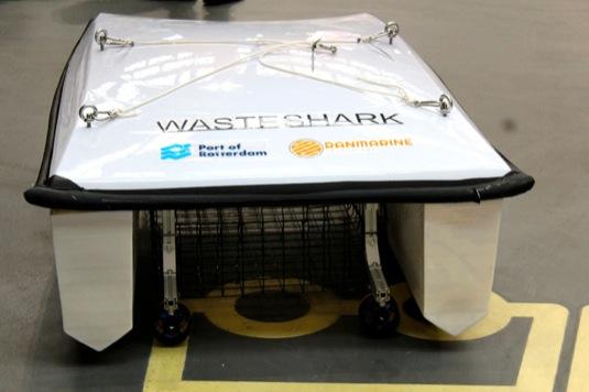 WasteShark drone