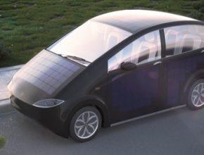 auto solární elektromobil Sion Sono Motors