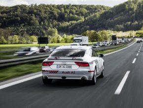 auto Audi infrastruktura