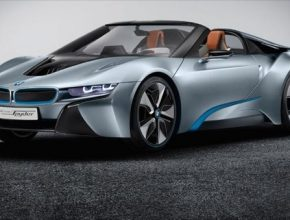 auto BMW i8 Spyder roadster plug-in hybrid