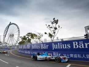 auto V Hong Kongu odstartovala nová sezóna závodů elektrických formulí