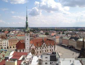 auto Olomouc Česká republika náměstí