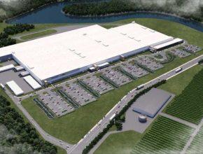 auto Tesla SolarCity Buffalo továrna Panasonic
