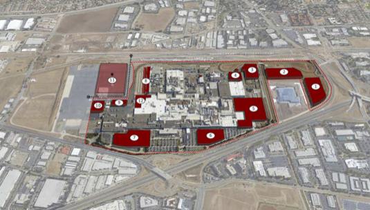 auto Tesla továrna Fremont Kalifornie master plan