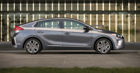 auto Hyundai Ioniq elektromobil