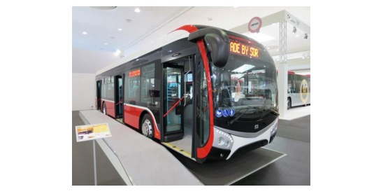 Zbrusu nový 12m elektrobus výrobce SOR Libchavy obsahuje baterii od EVC GROUP nové koncepce