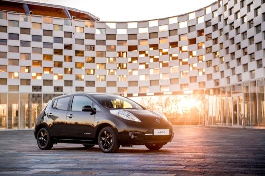 Nissan Leaf Black Ediiton