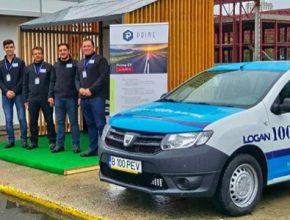 auto elektromobil elektrická přestavba Dacia Logan Prime EV Rumunssko