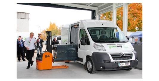 EVC koncipovalo a v průběhu 3 let dodalo do slovenského projektu GreenWay/Voltia