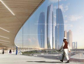 auto Hyperloop One město Dubaj