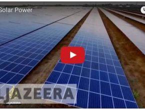 auto největší solární elektrárna je v Indii