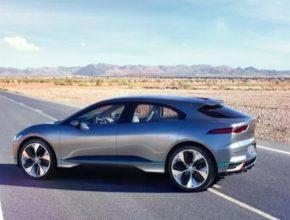 auto Jaguar I-Pace: dojezd 500 km, na trhu 2018
