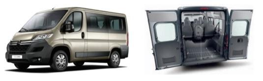 Nové elektrické dodávky EVC J39/J51 budou mít baterii v podlaze, podle potřeby vozidlo uveze 6-9 cestujících