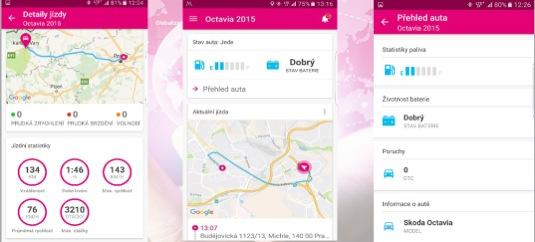 auto T-Mobile Chytré auto internet věcí (IoT)