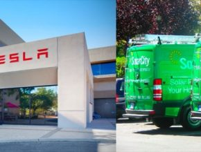 auto Tesla SolarCity
