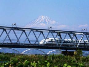 auto Šinkanzen vysokorychlostní vlaky Japonsko rychlodráha